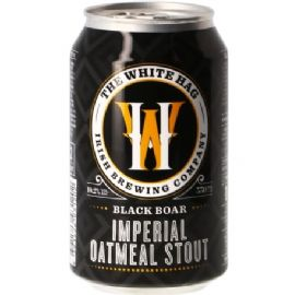 24*33cl WHITE HAG BLACK BOAR Imperial Oatmeal stout 10.2%