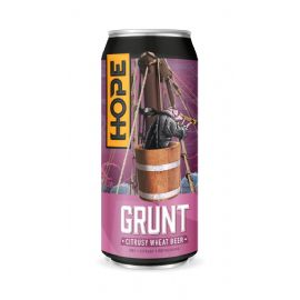 24*44CL HOPE BEER DUBLIN - Grunt Wheat Beer 4.8% LATTINA