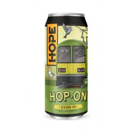 24*44CL HOPE BEER DUBLIN - HOP ON Session IPA 4.3% LATTINA