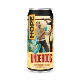24*44CL HOPE BEER DUBLIN - Underdog Lager  LATTINA 4.8%