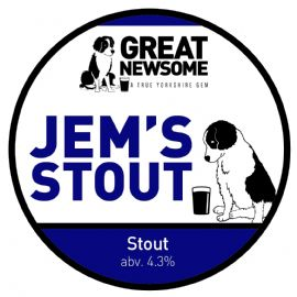 Great Newsome JEMS STOUT CASK 41 LT  4.3%