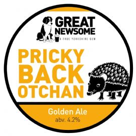 Great Newsome Pricky Back CASK 41 LT  4.3%