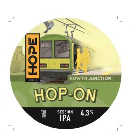 HOPE BEER DUBLIN - Hop On Session IPA 30LT 4.3%
