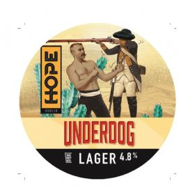 HOPE BEER DUBLIN - Underdog Session Lager 30LT 4.8%