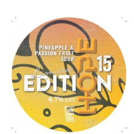 HOPE BEER DUBLIN - Limited Edition 15 Pineapple and Passion Fruit sour 30LT 4.7%