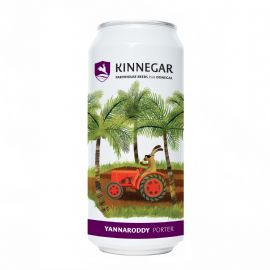 24*44cl KINNEGAR BREWING Yannaroddy Porter  LATTINA 4.8%