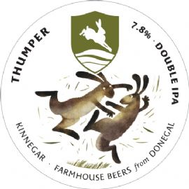KINNEGAR BREWING Thumper Double IPA 7.8% 30LT