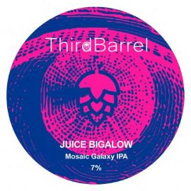 THIRD BARREL - Juice Bigalow - DDH IPA 7% 30LT