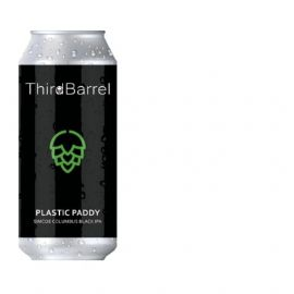 24*44CL THIRD BARREL Plastic Paddy - DDH Black IPA 6.8% LATTINA