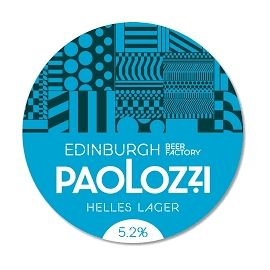 EDINBURGH BEER FACTORY - PAOLOZZI Helles Lager 4.9%