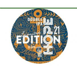 HOPE BEER DUBLIN - Limited Edition 21 DOUBLE IPA 30LT 8.9%